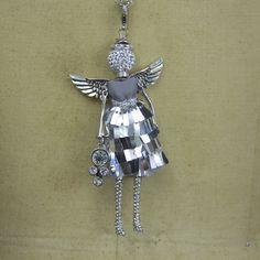 April Angel Necklace
