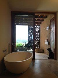 Masía en Les Gavarres by ZEST architecture, #agapedesign bathroom #spoonxl bathtub