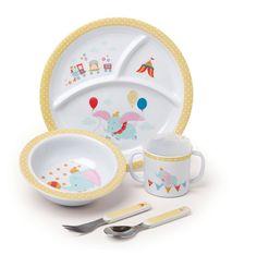 Disney Baby Melamine Baby Dumbo Dish Set in Baby, Feeding, Cups, Dishes & Utensils Dumbo Nursery, Baby Dumbo, Disney Nursery, Pink Beige, Disney Babys, Disney Baby Toys, Dumbo Disney, Baby Dishes, Kids Dishes