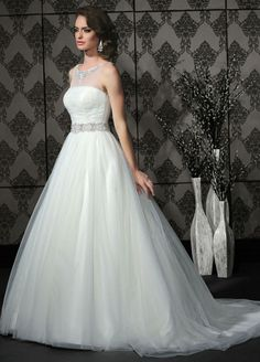 The beading on this dress, wowza! See more from Impression Bridal here - http://www.impressionbridal.com