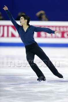 Takahiko Kozuka (JPN), MARCH 28, 2015 - Figure Skating : ISU World Figure Skating Championship Men's Free Skating at Shanghai Oriental Sports Center in Shanghai, China. (Photo by Yusuke Nakanishi/AFLO SPORT)