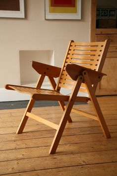 Niko Kralj; 'Rex' Chair, 1960s - In memory of one of the best Slovenian designers, that died 15. July 2013.