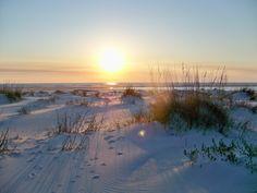 sunset Dauphin Island. Photographer- J. Wengerd  We loved Dauphin Island
