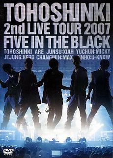 TVXQ - 2nd Live Tour 2007 ~Five in the Black~