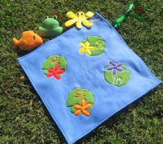 Frog Pond Critter Soft Toss Game For Toddlers by ByNanasHands for $35.00