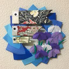 YuukoさんはInstagramを利用しています:「おはようございます 5月のリース作りました!鯉のぼり🎏とアヤメです。ちょっと、大人っぽく、いい感じにできました! #折り紙#おりがみ#origami#折り紙アート#折り紙作品#折り紙リース#5月#鯉のぼり#アヤメ#菖蒲#カミキィ」 Diy And Crafts, Crafts For Kids, Arts And Crafts, Origami, Art For Kids, Recycling, Xmas, Gift Wrapping, Scrapbook