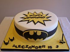 Batman inspired cake by cakespace - Beth (Chantilly Cake Designs), via Flickr