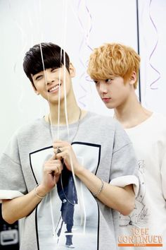 Sanha: One day hyung... One day, you'll regret stealing my balloons... We'll see who's smiling then...