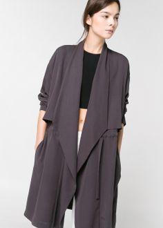 60.00 Flowy coat