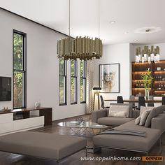 OP16 Villa03: Humanized Design Two Storey Villa Home Furniture Set