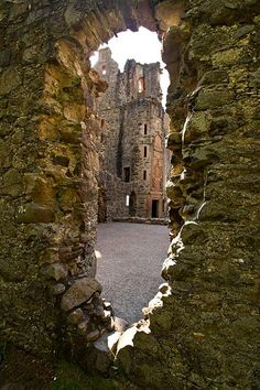 Huntly Castle, Aberdeen, Scotland