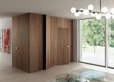Doors and flush wall cladding system, Infinity by Ghizzi & Benatti