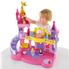 Disney Princess Musical Dancing Palace by Little People® - Shop Little People Toddler Toys | Fisher-Price