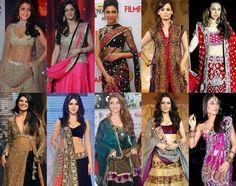#BollywoodLenghas/Ghagaras