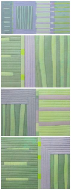 Melody Johnson (Fibermania): A Different Palette green grey pale