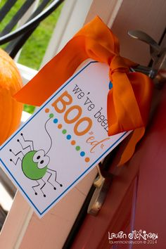 You've been Boo-ed FREE printable for Halloween from Lauren McKinsey