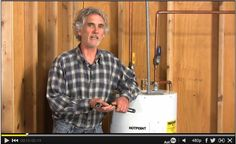 DIY Video: How to test your water heater element so you don't have to suffer through any more cold showers. http://www.familyhandyman.com/video/v/63610682/how-to-test-your-water-heater-element.htm