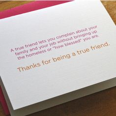 Best friend greeting #card #humor #friends