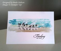wetlands card by Paula Dobson