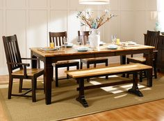 aamerica solid wood dining sets