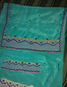 Embroidery Suits Design, Embroidery Designs, Ladies Suit Design, Beautiful Suit, Silk Suit, Suits For Women, Simple Designs, Machine Embroidery, Health Remedies