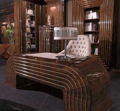 Holz Schreibtische, Luxus Schreibtisch, beugte Holz Schreibtisch Eingang SC.20.01