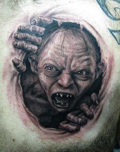 icky LotR tattoo by Wojciech Sokun