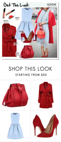 """""""get the look"""" by pankh ❤ liked on Polyvore featuring RED Valentino and Schutz"""