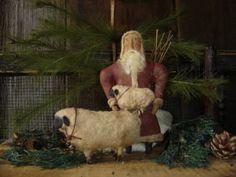 Patternmart Com Patternmart Primitive Santa Amp Horse