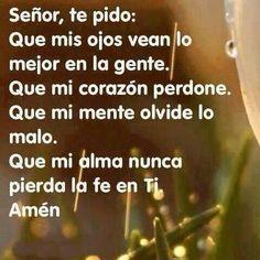 Amén.♥                                                                                                                                                                                 Más