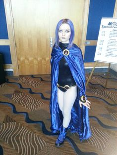 Raven (Teen Titans) cosplay