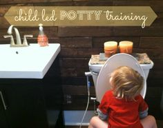 child led POTTY TRAINING - how i let my son lead the way to being successfully potty trained before he was 2 1/2!