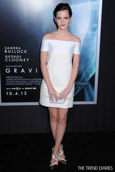 Emma Watson at the 'Gravity' premiere at AMC Lincoln Square Theater in New York City, New York - October 1, 2013