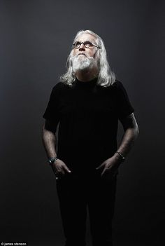My battle with Parkinson's: As he picks up a special National Television Award, Billy Connolly talks candidly about how he's tackling the cruel effects of the disease Eric Idle, Billy Connolly, The Answer To Everything, Rangers Fc, Very Scary, People Laughing, Cigar Smoking, Robin Williams, My Crush