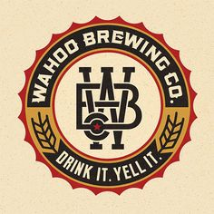 Wahoo Brewing Company Logo in Logo