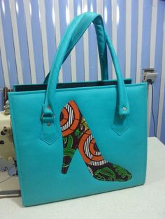 African Print Handbag by EJAfricanProducts on Etsy