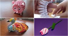 Hoy vamos a dar un paso adelante en el mundo del origami, a través de figuras hechas en 3D. ¡Os encantará!