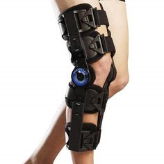 Orthomen Hinged ROM Knee Brace, Post Op Knee Brace for Recovery Stabilization, Adjustable Medical Orthopedic Support Stabilizer After Surgery, Universal Ligament Injury, Knee Osteoarthritis, Cruciate Ligament, Acl Knee, Knee Injury, Tibial Plateau Fracture, Common Knee Injuries, Acl Brace, Plantar Fasciitis Night Splint