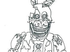 Have Fun with FNAF Coloring Pages. FNAF stands for Five Nights at Freddy's. Many children who like an indie video game ser Fnaf Coloring Pages, Free Coloring Sheets, Coloring Pages To Print, Printable Coloring Pages, Coloring Pages For Kids, Coloring Books, Kids Coloring, Valentines Day Coloring Page, Page Online