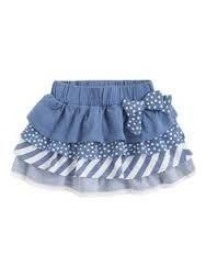 Girl skirt - Mis creaciones a crochet - Kids Outfit Kids Frocks, Frocks For Girls, Little Dresses, Little Girl Dresses, Toddler Dress, Toddler Outfits, Kids Outfits, Baby Skirt, Baby Frocks Designs