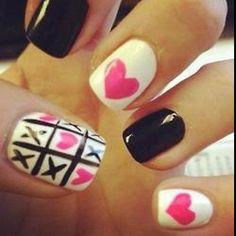 Valentine's Day Nail Idea