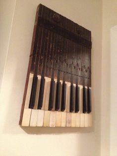 Piano Key Wall Art | ... piano can be used outside of the instrument. This is a great key wall