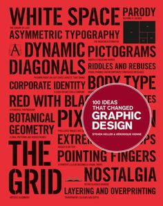 100 Ideas that Changed Graphic Design bySteven Heller - From visual puns to the grid, or what Edward Tufte has to do with the invention of the fine print.
