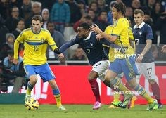 Alexandre Lacazette of France in action in...