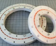 Slew Bearing Conic, with Spacers, parametric Design with Fusion 360 by TheGoofy - Thingiverse 3d Printer Designs, 3d Printer Projects, Cnc Projects, 3d Printing Business, 3d Printing Diy, Woodworking Shop, Woodworking Projects, Useful 3d Prints, Diy Cnc Router