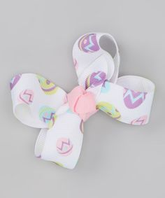 Take a look at this Pastel Easter Egg Bow Clip by Blossomheads Boutique on #zulily today!