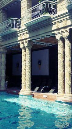 Budapest's Finest Art Nouveau Thermal Spa – Gellért Bath. Budapest, HUNGARY
