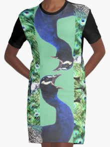 Calling Peacock Graphic T-Shirt Dress 20% off today use code CARPE20 #redbubble #newfromredbubble #redbubbledress #digiprint #printeddress #print #pattern #patterneddress #graphicdress #graphic #sublimation #dyesublimation #alternative #fashion #ss16 #indie #indiedesign #design #tshirtdress #minidress #women #fashion #newdress #newclothes #peacock #peacockdress