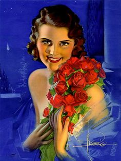 Rolf Armstrong Pin-up!