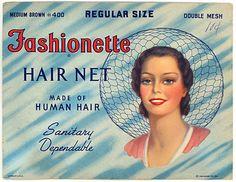 Vintage 1950 Fashionette w Fifties Woman